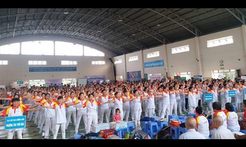 """Hơn 1200 người cao tuổi tham dự ngày hội """"Sức khỏe và dinh dưỡng người cao tuổi quận Tân Phú năm 2018"""""""