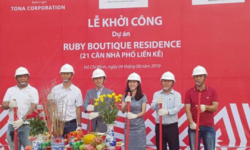 Tăng tốc hoàn thiện dự án Ruby Boutique Residence để bàn giao đúng tiến độ cho khách hàng