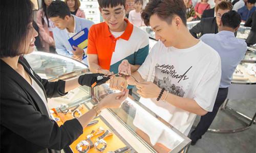 PNJ Watch Trần Quang Khải chính thức khai trương và đi vào hoạt động