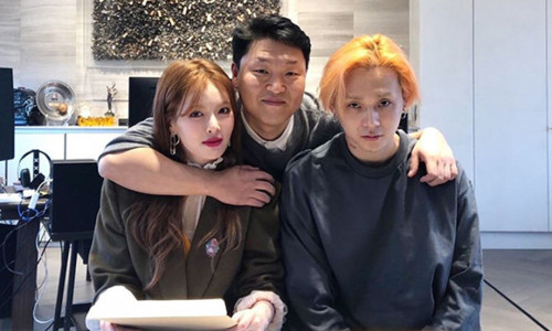 'Nữ hoàng quyến rũ' HyunA và bạn trai gia nhập công ty của PSY