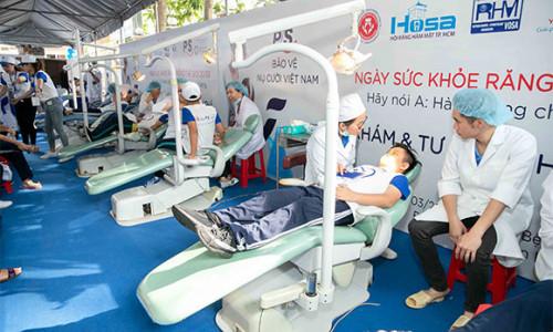 3 ngày khám, tư vấn răng miệng miễn phí cho người dân tại TP.HCM