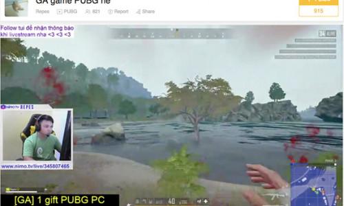 Những tựa game Hot được livestream nhiều nhất tại Việt Nam