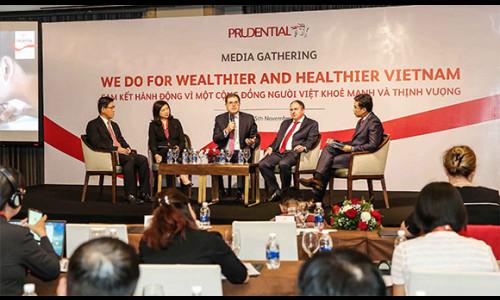 Prudential cam kết hành động vì một cộng đồng người Việt khỏe mạnh và thịnh vượng nhân kỷ niệm chặng đường 20 năm hoạt động