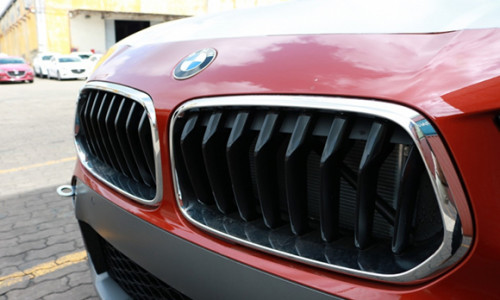 BMW X2 hoàn toàn mới: Những hình ảnh đầu tiên tại cảng