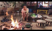 Midu làm vườn, nấu nướng trong 3 tuần ở Đà Lạt