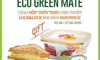 """Lock&Lock và Tous Les Jours chung tay phát động chương trình """"Eco Green Mate"""" nhằm giảm rác thải nhựa"""