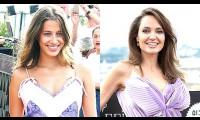 Nicole Poturalski bị so sánh với Angelina Jolie