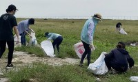 The Body Shop giải cứu biển Cần Giờ khỏi 435 kg rác thải