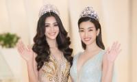 Hoa hậu, á hậu ủng hộ miền Trung