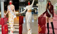 Đại diện Thái Lan khen Khánh Vân mặc sành điệu ở Miss Universe