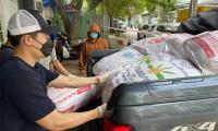 Thúy Diễm góp 20 tấn nông sản cho người dân TP.HCM