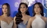 Hoa hậu Mỹ Linh phản hồi về ảnh hất tay Đỗ Thị Hà trên thảm đỏ
