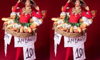Trang phục dân tộc 'Bánh mì' dành cho H'Hen Niê được nhiều bình chọn nhất