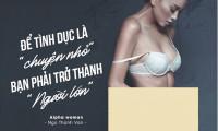 Ngô Thanh Vân chia sẻ chuyện tình dục trong sách đầu tay