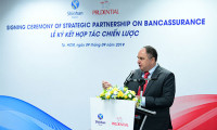 Prudential Việt Nam hợp tác với Ngân hàng Shinhan triển khai mô hình bancassurance
