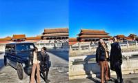 Người mẫu Trung Quốc bị tẩy chay vì lái Mercedes vào Tử Cấm Thành