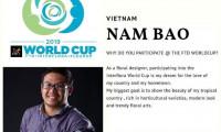 Việt Nam lần đầu có đại diện dự cuộc thi thiết kế hoa FTD World Cup