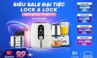 Ngày 9/9: Cơ hội vàng mua sản phẩm LOCK&LOCK  giảm giá đến 50% trên Lazada
