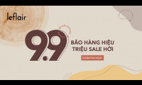 Cơ hội vàng mua hàng hiệu giá rẻ duy nhất trong ngày 9/9 tại Leflair.vn