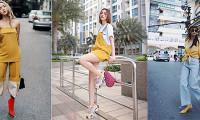 3 Fashionista Việt rủ nhau lên đồ 'vàng tươi', ai cũng 'chất như nước cất' khiến fan yêu từ cái nhìn đầu