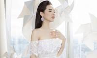 Hình ảnh đầu tiên về bộ đầm Nhã Phương sẽ mặc trong tiệc cưới